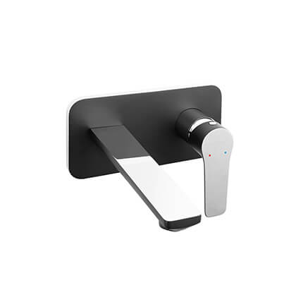 Adore Black/Chrome - built-in washbasin mixer